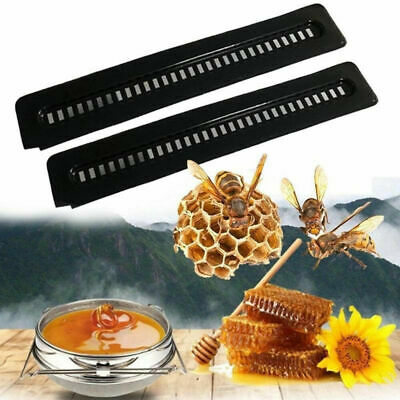 !5 Black Small Bee Hive Beetle Blaster BeeHive Trap Beekeeping Equipment Tool ^D