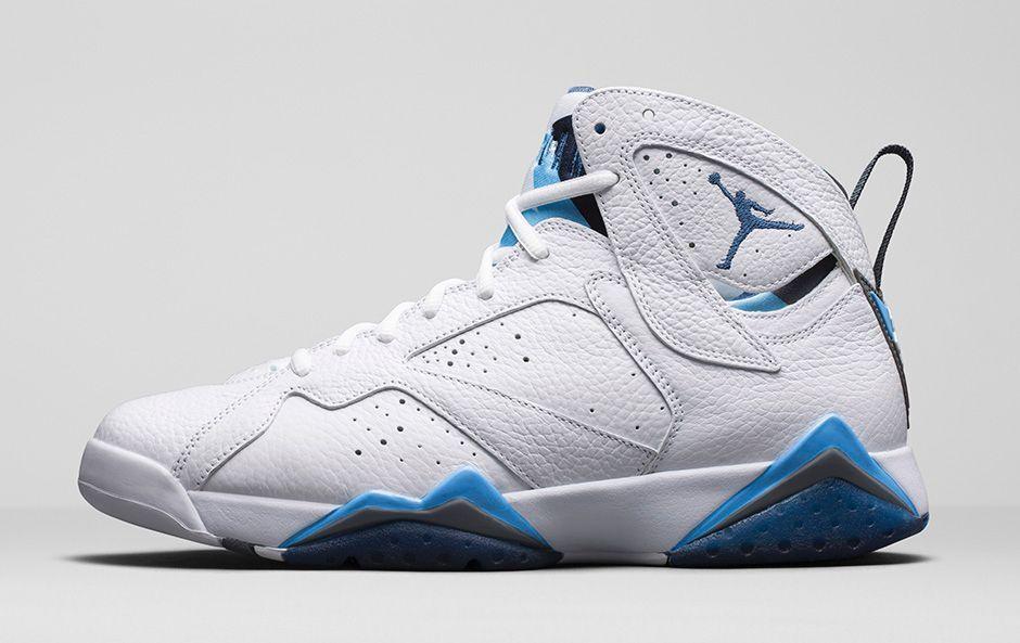 Nike air jordan 7 vii francese blu dimensioni 13.hare raptor sigaro champagne lince