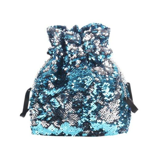 Drawstring Sequin School Bag Gym Swimming PE Bags Unisex Girls Boys Beach Maomi