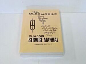 1969-Oldsmobile-All-Series-Chassis-Shop-Service-Car-Repair-Manual-OEM