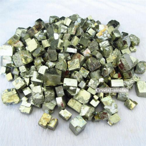1//4lb Beautiful Natural Roug Golden Lron Pyrite Cubes Crystal