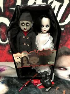 Living-Dead-Dolls-Nosferatu-and-Victim-Vampire-Exclusive-LDD-Mezco-sullenToys