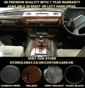 LAND-ROVER-RANGE-ROVER-CLASSIC-1986-1996-Dash-Kit-Walnut-Carbon-Piano-Black