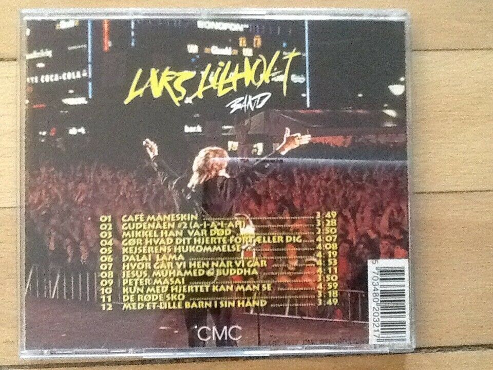 Lars Lilholt Band: MASAI, rock