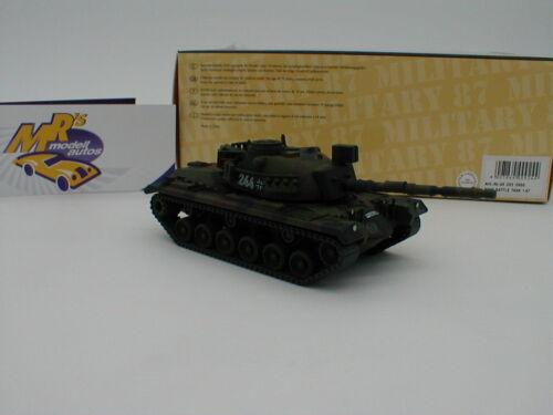 "M48G Battle Tank Kampfpanzer /"" Bundeswehr /"" flecktarn  1:87 NEU Schuco 26359"