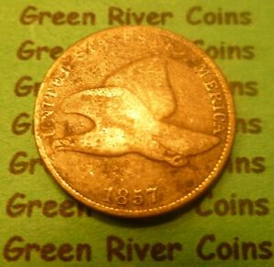 1857  Flying Eagle Cent   #57M      (1856 to 1858)