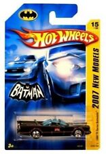 HOT WHEELS BATMAN BATMOBILE 1966 TV SERIES NEW MODELS 2007 TOY CAR ADAM WEST NEW