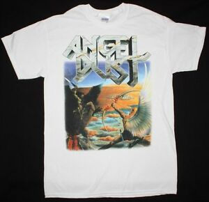 Into Nuova German Past Angel maglietta bianca The Deathrow Band Dust Thrash Dark Tzxq5wO4q
