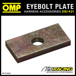 DB-421-OMP-RACING-HARNESS-REINFORCED-THREAD-PLATE-FOR-EYEBOLT-ATTACHMENTS