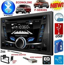 04-16 FORD F SERIES & E SERIES CD BLUETOOTH USB AUX Car Radio Stereo Double Din
