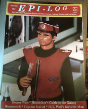 EPI-LOG SPECIAL #7 Captain Scarlet, Dr. Who, Doomwatch, Invisible Man