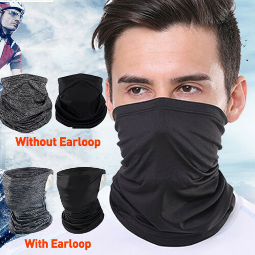 Cooling Scarf Neck Gaiter Face Mask Cover Bandana For Running Cycling Fishing s5
