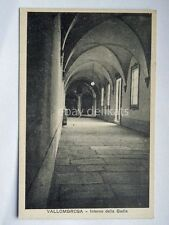 VALLOMBROSA Badia Reggello Firenze vecchia cartolina