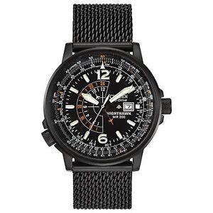 becc47782aaee Citizen Eco-drive Mens Nighthawk Pilots Watch Bj7009-58e for sale ...
