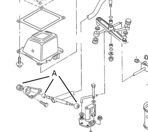 Gangschaltung Reparatur Set 3 Teil Neu für VW Transporter T4 1991 zu 2003