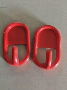 2-Ganci-adesivi-appendini-da-parete-rosso-gancio-bagno-cucina