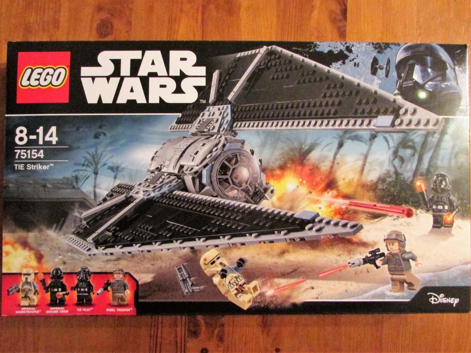 LEGO LEGO LEGO set 75154 STAR WARS Tie Striker MISB 8ce28d