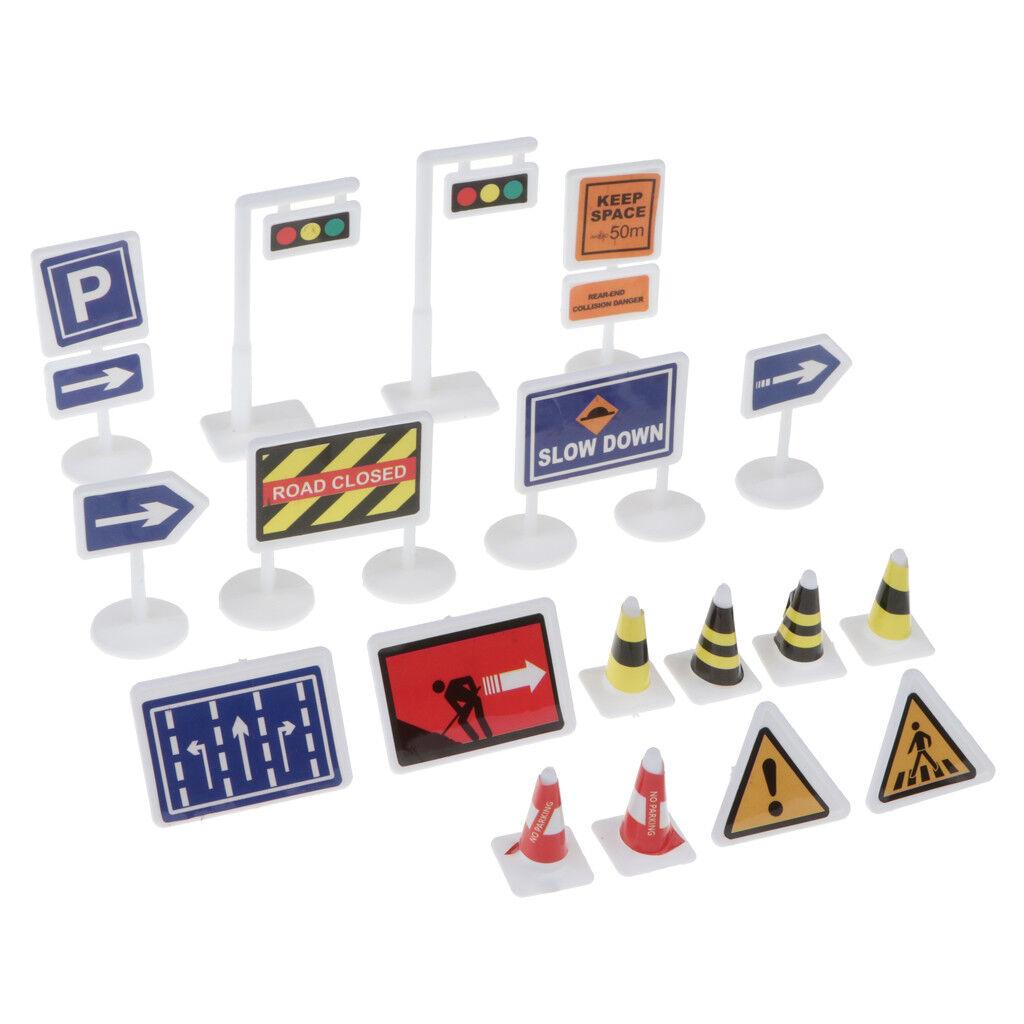 Kunststoff Verkehrszeichen Lichter Kinder lernen lernen lernen Verkehrsregeln 11be3b