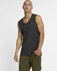 Nike-Training-Top-Shirt-Black-2019-sleeveless-tank-top-Breathe-Men