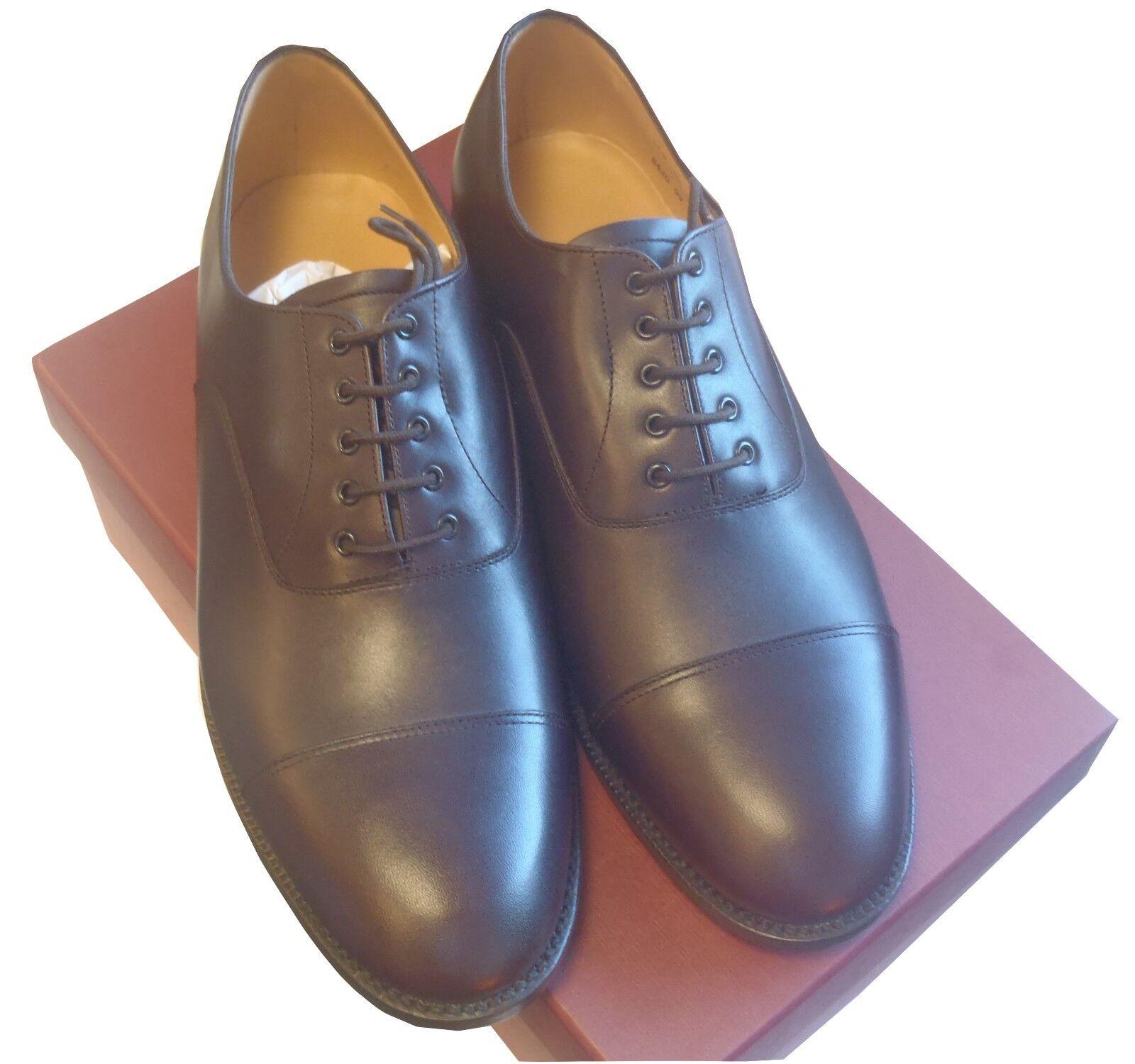 Chaussures de service en cuir marron-Taille 10 medium-Neuf (en boîte) boîte) boîte) - DFN1304 65bbc8
