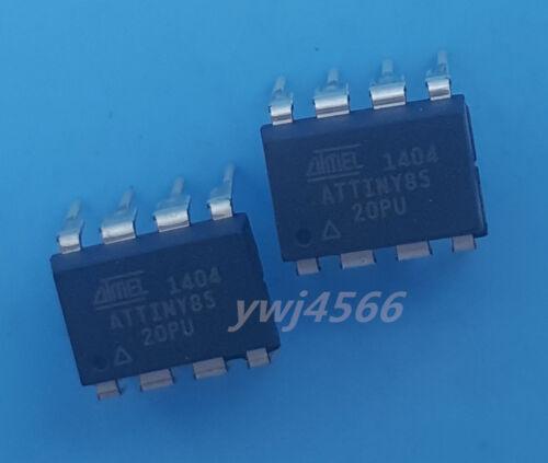 10Pcs Attiny85-20Pu ATMEL DIP-8 Microcontroller Chips