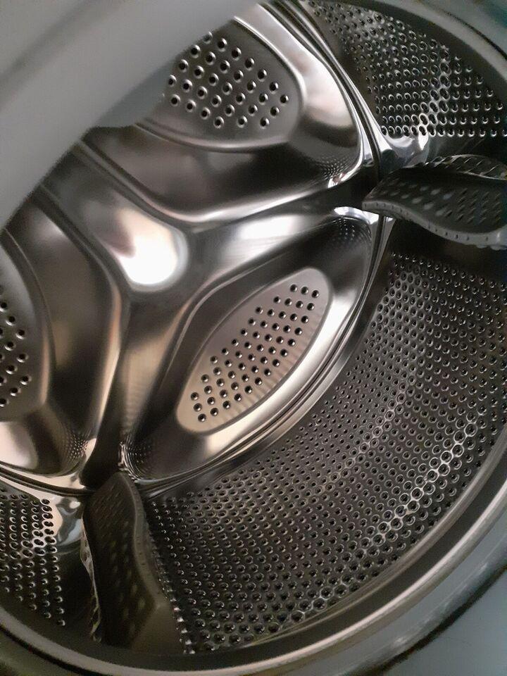 Logik vaskemaskine, frontbetjent