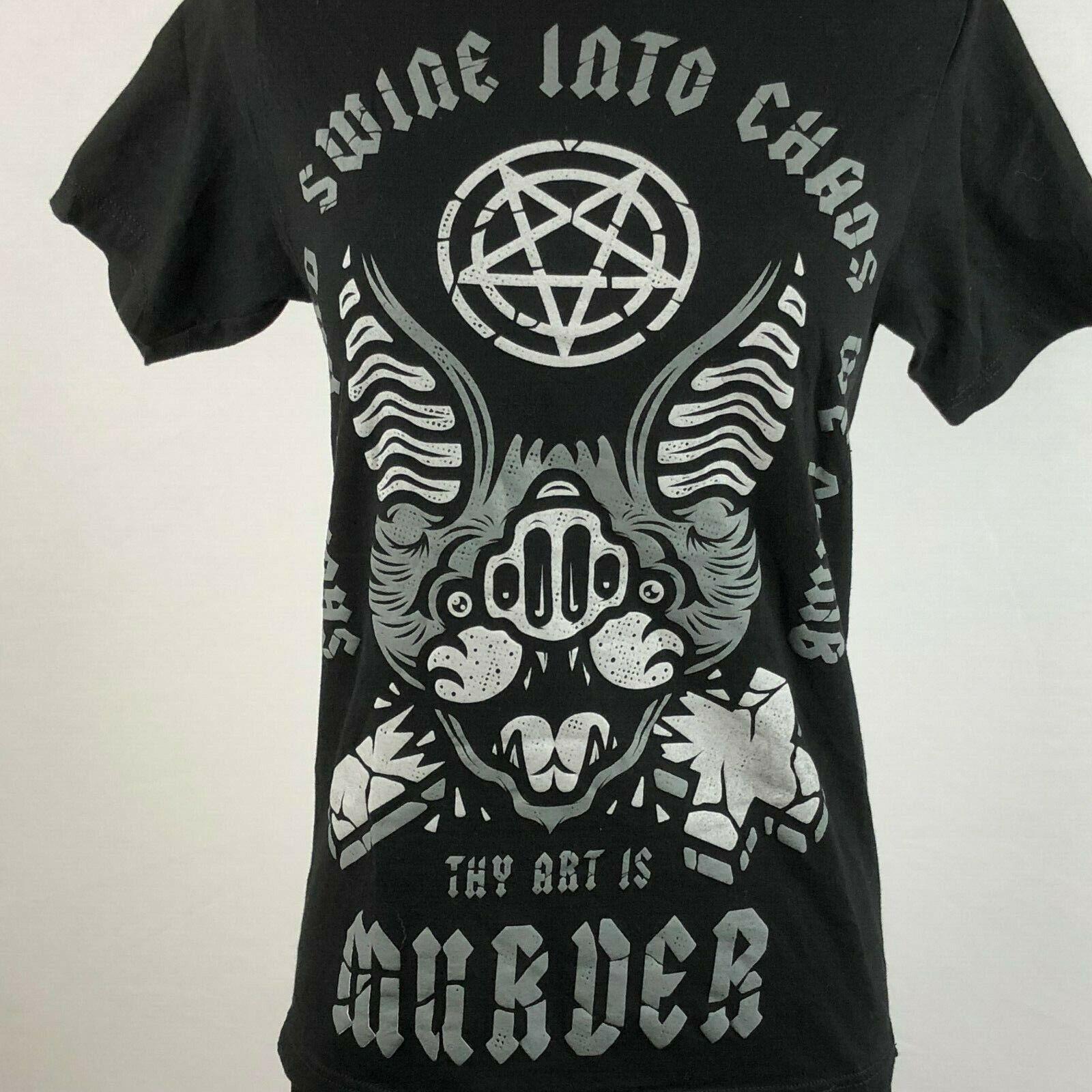 Thy Art Is Murder Womens XS Graphic T Shirt