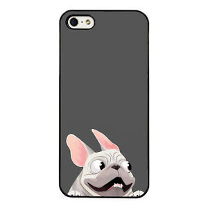 Cartoon French Bulldog Funny Plastic Phone Case Fits Iphone Ebay