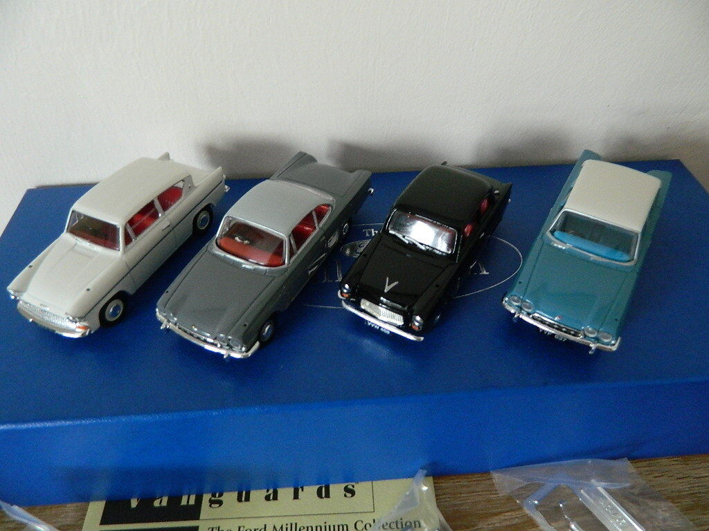 Vanguards Corgi FD1004 The Ford Millenium Collection