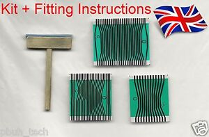 Mercedes Benz Instrument Cluster Pixel Display Ribbon Cable +T-TIP W210 / W202