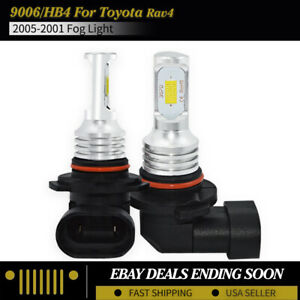 HB4 9006 Xenon WHITE 16W 8000K COOL BLUE HIGH POWER LED Car Spot Fog Bulbs C