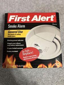 NIB-First-Alert-Smoke-Alarm-SA67B-Smoke-Detector