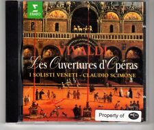 (HH404) Vivaldi, Les Ouvertures d'Operas - 1994 CD