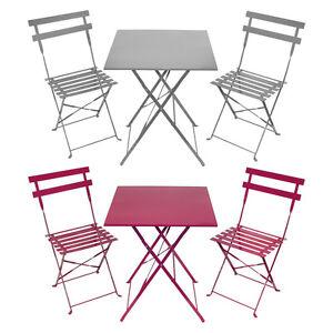 Charles bentley da giardino in metallo 3 pezzi set di mobili da giardino bistro tavolo e 2 sedie - Ebay mobili da giardino ...