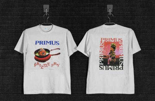 Vtg 1990s Primus Frizzle Fry Concert Tour T-Shirt lesclaypool band music Reprint