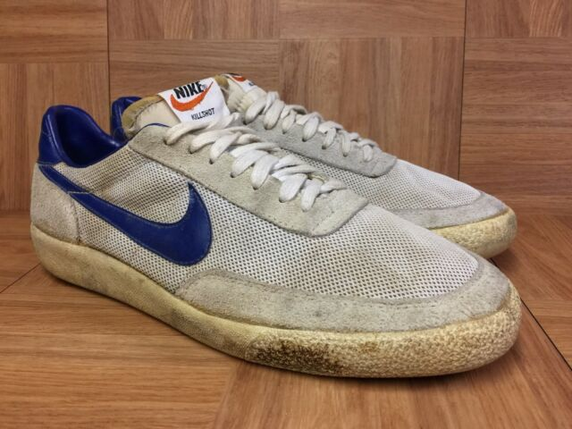 7c49e6b6a314 Vintage🔥 Nike Killshot Original Release 80 s Sz 10 Men s Made In Korea OG  VNTG
