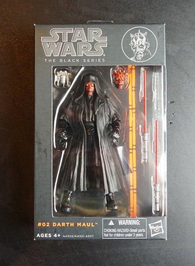 Darth Maul  02 2 Star Wars 2013 Orange Noir Série Comme neuf IN BOX 6  Scale