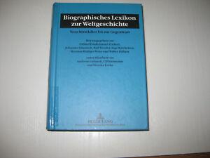 Biographisches Lexikon zur Weltgeschichte (2001, Gebundene Ausgabe) - Leverkusen, Deutschland - Biographisches Lexikon zur Weltgeschichte (2001, Gebundene Ausgabe) - Leverkusen, Deutschland