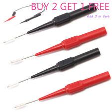 Multimeter Testing Lead Fluke Extention Back Probe Sharp Needles Micro Pins Hot