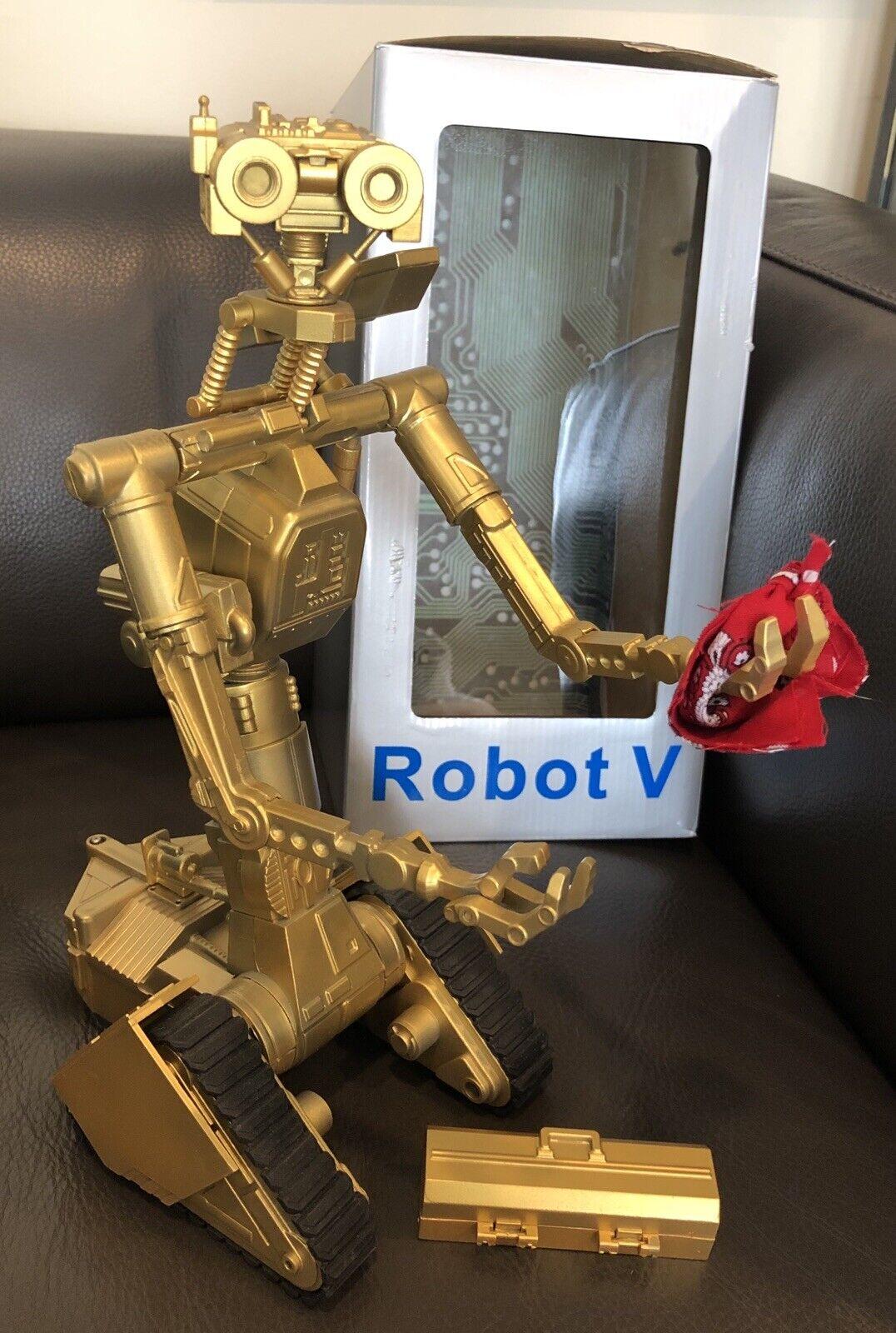 13  TALL JOHNNY 5 ROBOT V Joz Robotics Robot V Short Circuit (Only 10 gold Made)