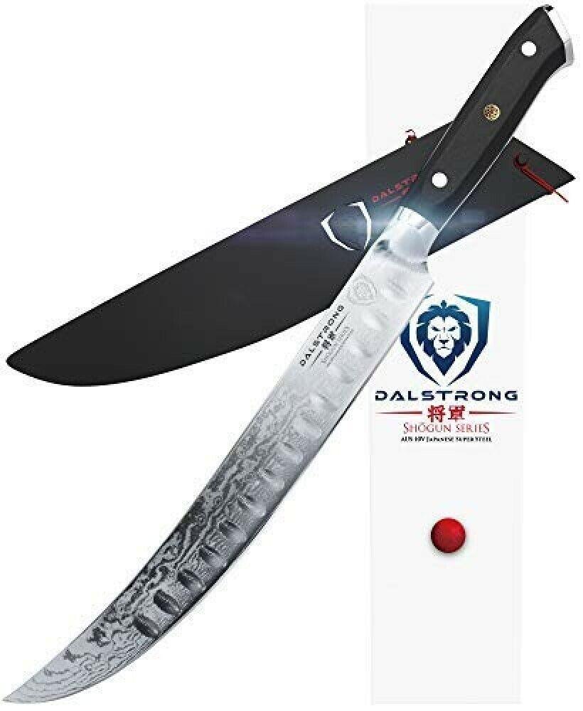 Dalstrong BOUCHER Nouveau Cimitar Couteau - 25cm - Shogun Séries Portionneuse -