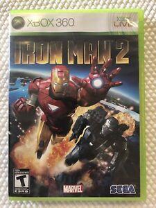 Iron-Man-2-Microsoft-Xbox-360-Complete-w-Case-amp-Manual