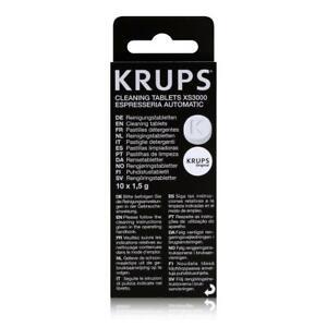 10 Stück Krups Reinigungstabletten XS 3000