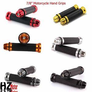 7-8-034-Motorcycle-Handlebar-Hand-Grips-For-Yamaha-Honda-Suzuki-Kawasaki-Ducati-BMW