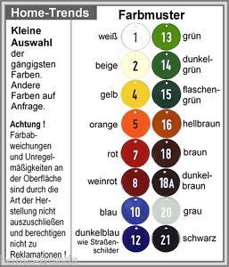 Emaille-namensschild-150 X 100 Mm-schild-email-türschild-emailleschild-klingel Möbel & Wohnen