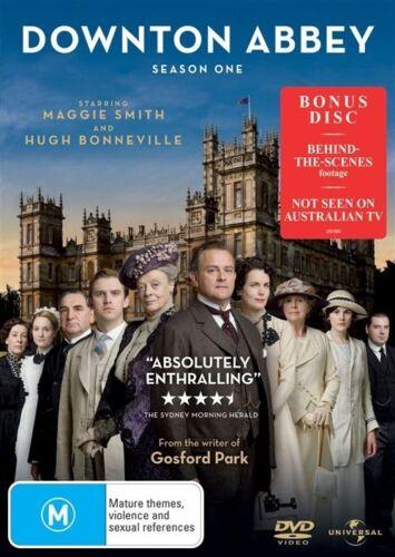 1 of 1 - Downton Abbey : Season 1 (DVD, 2011, 4-Disc Set)