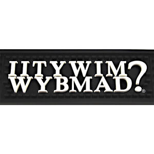 iitywimwybmad bar service rubber spill mat novelty. Black Bedroom Furniture Sets. Home Design Ideas