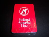 Vintage Holland America Line Promo Playing Cards--cruise Lines--sealed Deck Mint