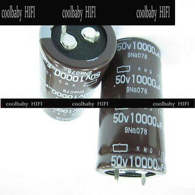 2pcs NCC Nippon Chemi-Con SMH 390mfd 400v 390uf electrolytic Capacitor caps