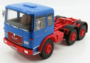 ROAD-KINGS 1/18 MAN | 16304 F7 TRACTOR TRUCK 1972 | BLUE RED